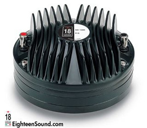 "ND1480-Neo-Driver a compressione in Neodimio 1,4"" 200W 110DB Diaframma in Titanio 8/16 ohm Eighteen Sound"