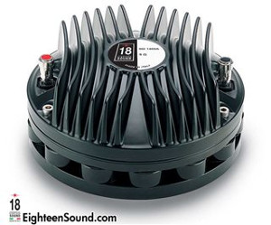 "ND1460A-Neo-Driver a compressione 1,4"" 160W 110DB Cupola in Alluminio-EWAL 8/16 ohm Eighteen Sound"