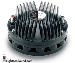 "ND1460-Neo-Driver a compressione 1,4"" 200W 109DB Diaframma in Titanio 8/16 ohm Eighteen Sound"