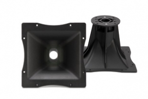 """HF 64-Throat: 1"""" / 1.4"""", Overall dimension: 250X250, Directivity: 60X40, TROMBA-131.33.046- RCF"""
